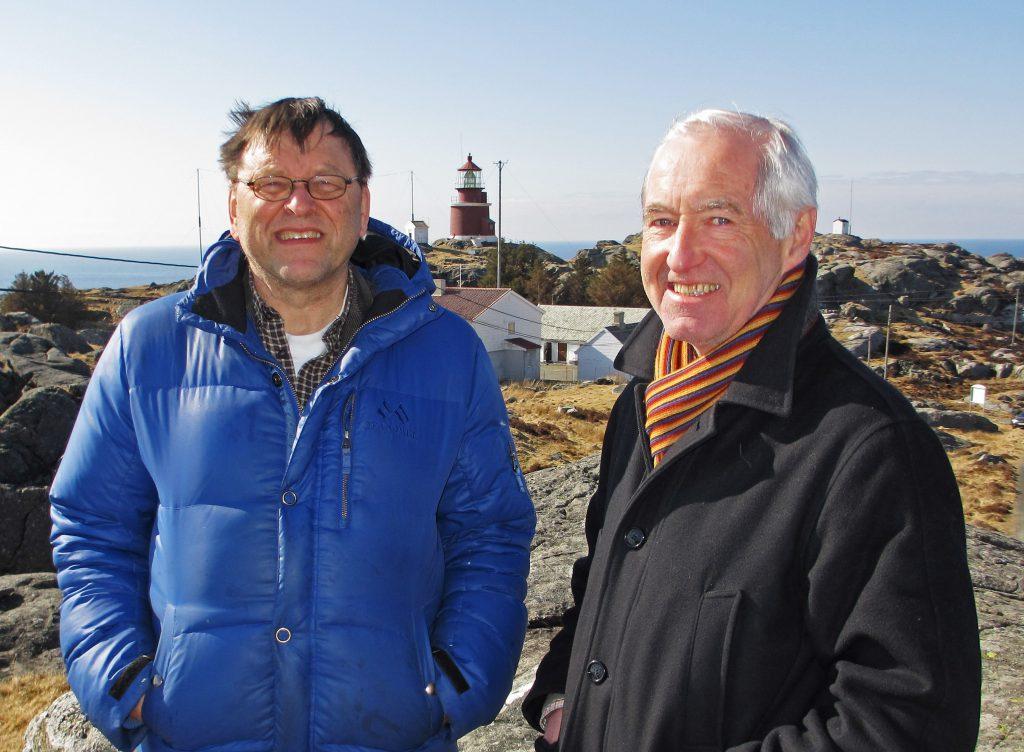 Birger Lindanger og Tore Berntsen april 2013M