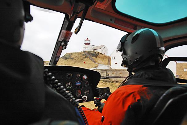 Helikopter til Svinoy