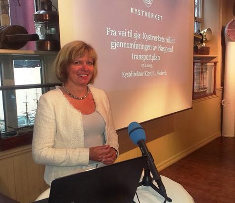Kystdirektor Kirsti Slotsvik