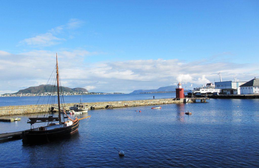 Aalesund havn Heidi E m
