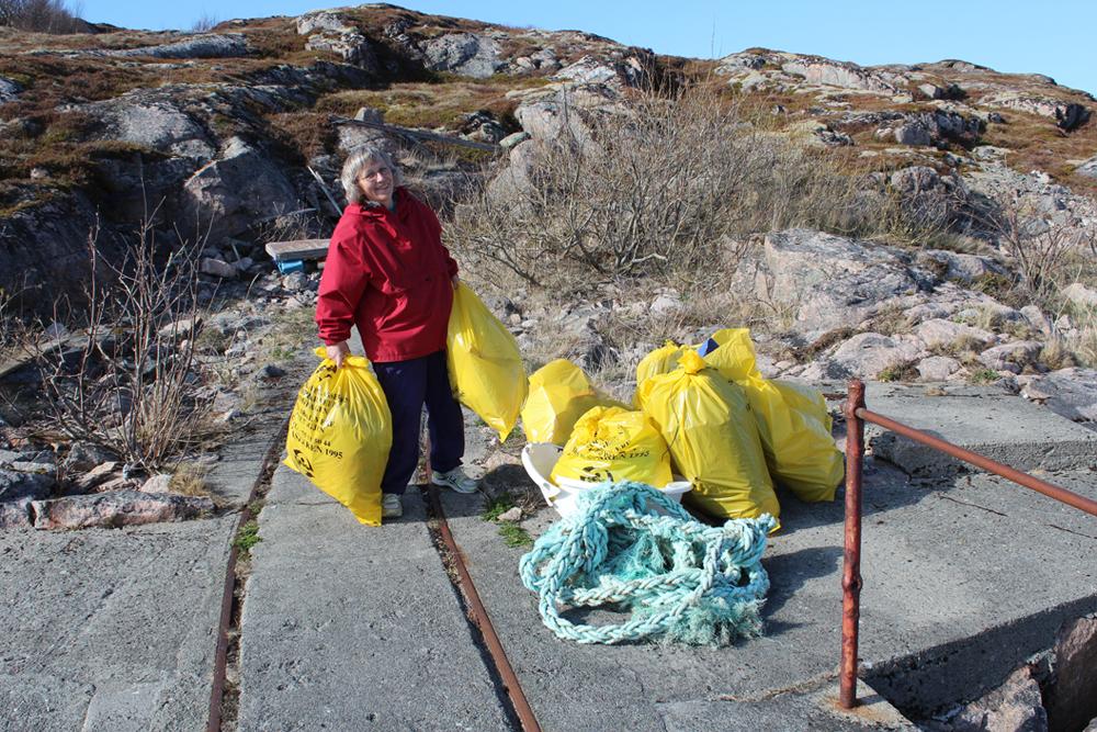 søppelplukking