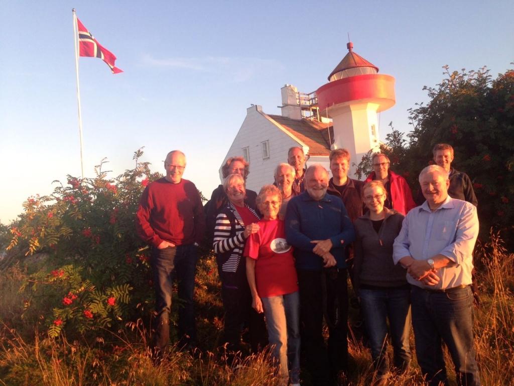 Styre i NFHF og venner av Flatøy fyr