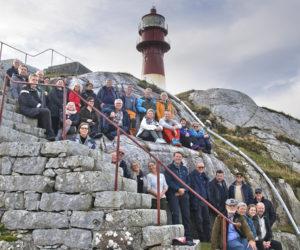 Gruppebilde av deltagere på regionsamling i regi av Kystverket Vest.