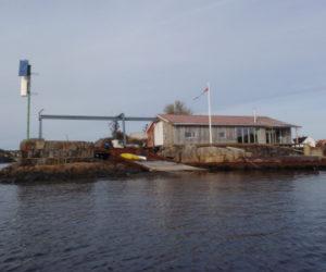Lille Skottholmen Fyrstasjon.